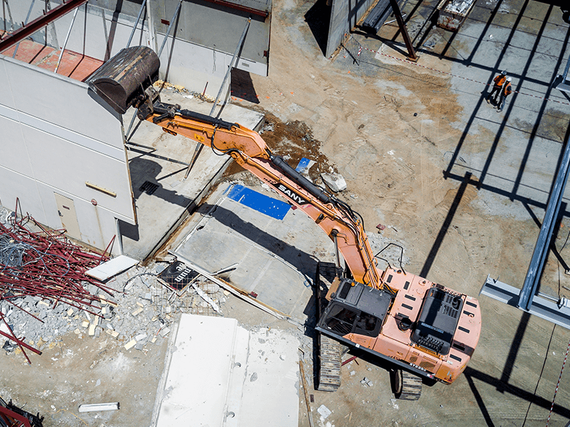 Image of Burpengary Shopping Centre - IRT Asbestos and Demolition Project