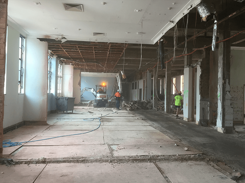 Image of Forgan Smith Building, UQ - IRT Asbestos & Demolition Project