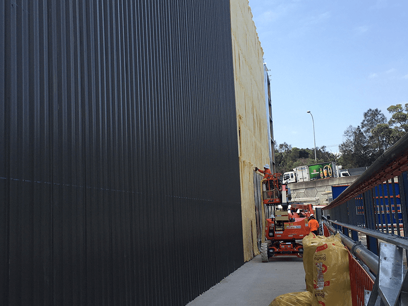 Image of Rozelle Bypass Acoustic Shed, Sydney - Roofing Project