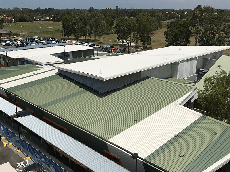 Image of Caboolture Hospital Roof - Roofing Project