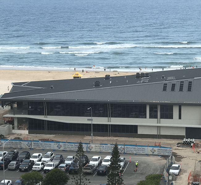 Image of Kurrawa SLSC, Gold Coast - Roofing Project