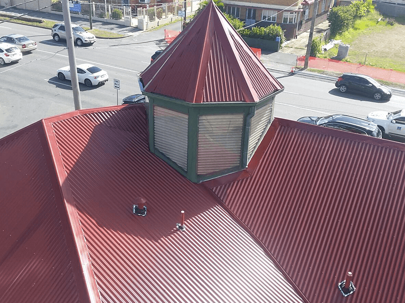 Image of Kangaroo Point Shopping Complex - Roofing Project