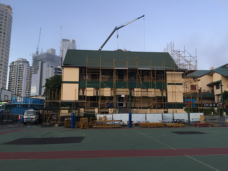 Image of St James College, Brisbane - Roofing Project