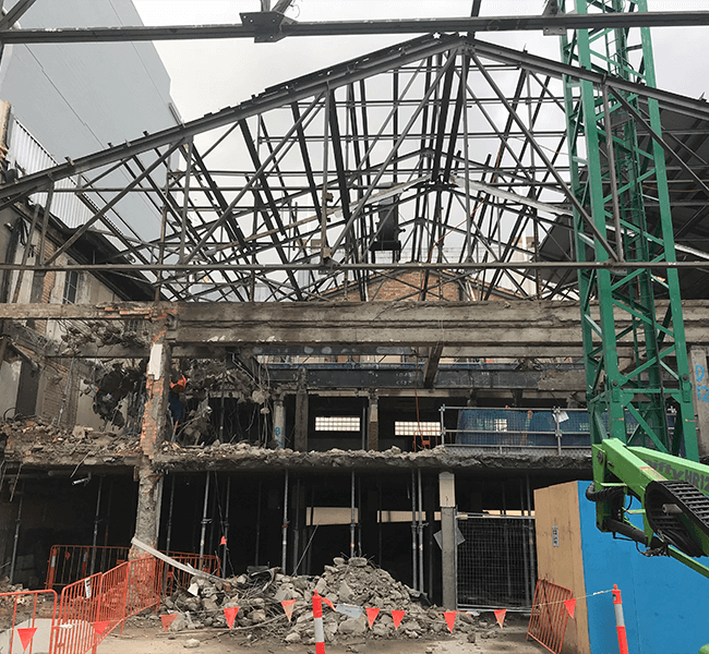 Recent Projects - Asbestos and Demolition - Brisbane Music Centre