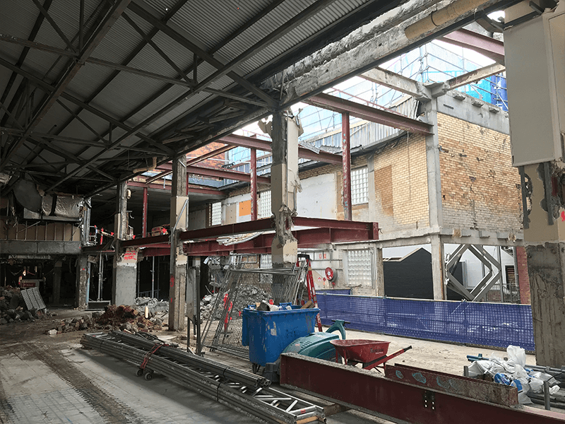 Image of Fortitude Music Hall - IRT Asbestos & Demolition Project