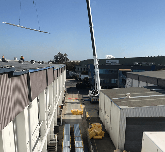 Image of Lago Cold Storage - Roofing Project