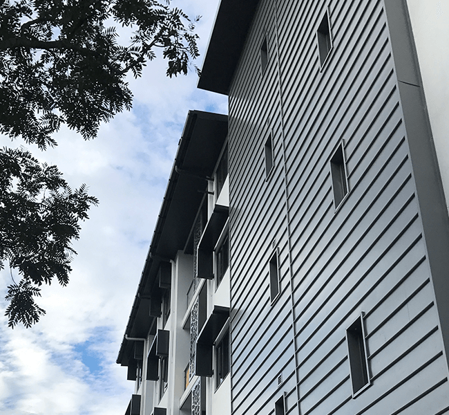 Image of Aveo, Clayfield - Wall Cladding Project