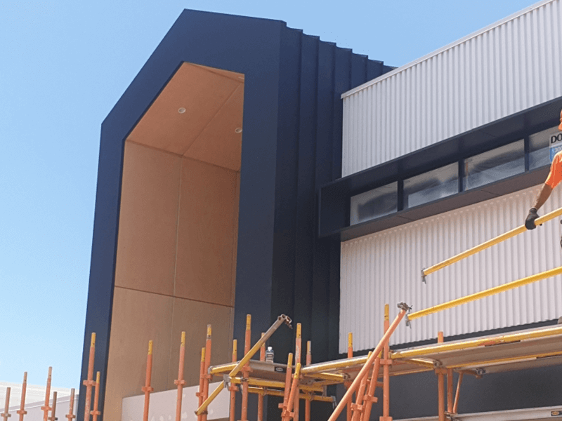 Image of Architectural Wall Cladding, Southport - Wall Cladding Project