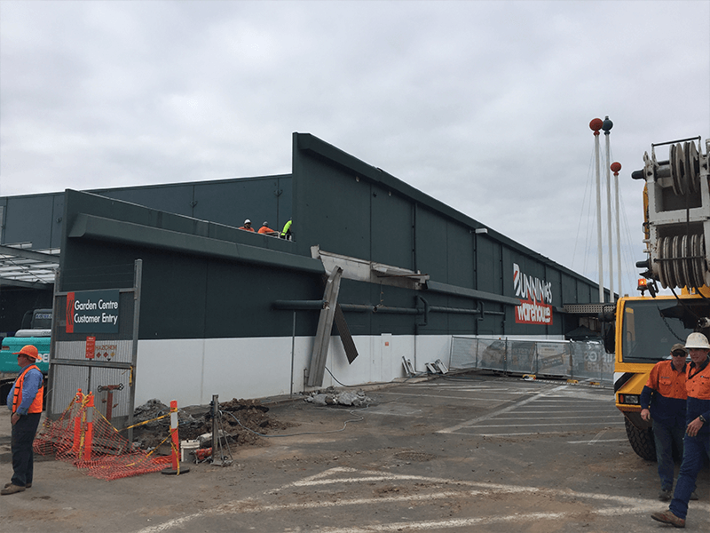 Image of Bunnings Darra - Asbestos and Demolition Project