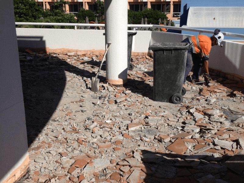 Demolition Project - Sheraton Noosa